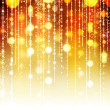 Golden Abstract Holiday background - Stock Photo