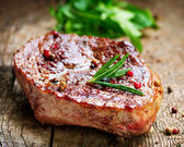 Grilled Steak — Foto Stock