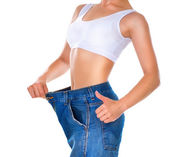 Weight loss. Healthy lifestyles concept — Stock Photo