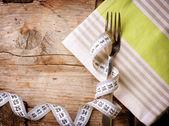 Régime alimentaire. un régime de concept. menu de régime — Photo