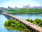 Ville de kiev - la capitale de l'ukraine — Photo