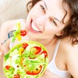 Dieting concept. Healthy Food — Stock Photo #14134355