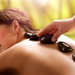 Spa Salon. Stone Massage. Dayspa — Stock Photo #14134401
