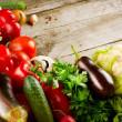 Healthy Organic Vegetables. Bio Food — Stock Photo