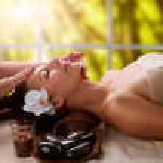 Spa Facial Massage — Stock Photo