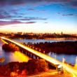 Kiev City - the capital of Ukraine — Stock Photo