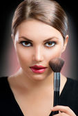 Makeup. Make-up Face — Stock Photo