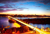 Kiev City - the capital of Ukraine — Stockfoto