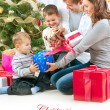 Foto Stock: Christmas Family