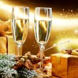 Foto de Stock  : New Year and Christmas Celebration