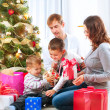 Christmas Family — Stock Photo #16276125