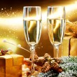 New Year and Christmas Celebration — Stock Photo