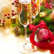 New Year Celebration. Greeting Card — Stock Photo #16276267