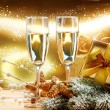 New Year and Christmas Celebration - Stock Photo