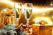 New Year and Christmas Celebration — Foto Stock