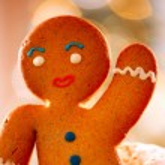 Gingerbread Man. Christmas Holidays — Stock Photo