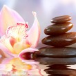Spa Zen Stones. Harmony Concept - Stock Photo