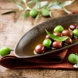 Royalty-Free Stock Photo: Olives and Olive Oil
