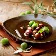 Olives and Olive Oil — Stock Photo #21975131
