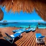 Vacation in Tropic Paradise. Isla Mujeres, Mexico — Stock Photo