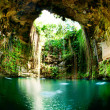 Ik-Kil Cenote, Chichen Itza, Mexico - Lizenzfreies Foto