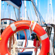 Yacht. Sailing. Yachting. Tourism. Luxury Lifestyle - Stock Photo