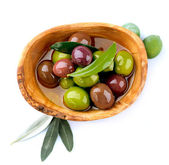 Olives and Olive Oil — Foto Stock