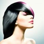 Fashion Hair. Hairstyle — Stock Photo