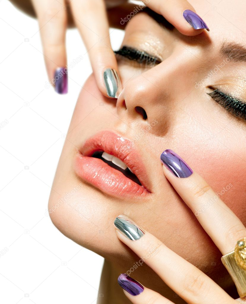 how to do manicure in parlour