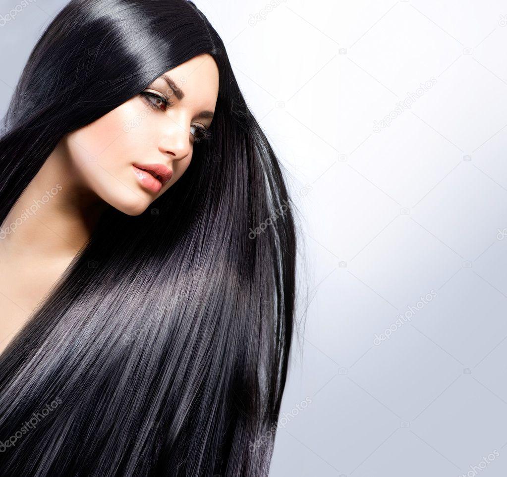 Beautiful Brunette Long Hair