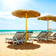 Stock Photo: Vacation Concept. Spain. Beach Costa del Sol. Mediterranean Sea