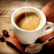 Coffee Espresso. Cup Of Coffee — Stok fotoğraf
