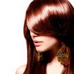 Fashion Woman Portrait. Stylish Model. Beauty Makeup — Stock Photo #29985285