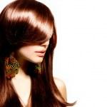 Fashion Woman Portrait. Stylish Model. Beauty Makeup — Stock Photo #29985441