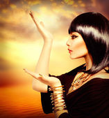 Egyptian Style Woman — Stock Photo