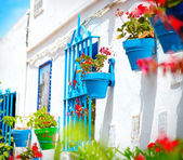 Torremolinos. Costa del Sol, Andalucia. Typical White Village — Stock Photo