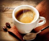 コーヒー エスプレッソ。コーヒー 1 杯 — ストック写真