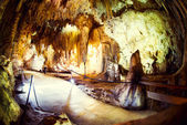 Nerja Caves (Cuevas de Nerja), series of caverns in Spain — Stock Photo