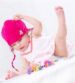 Baby. Cute Baby Girl Portrait — Stock Photo