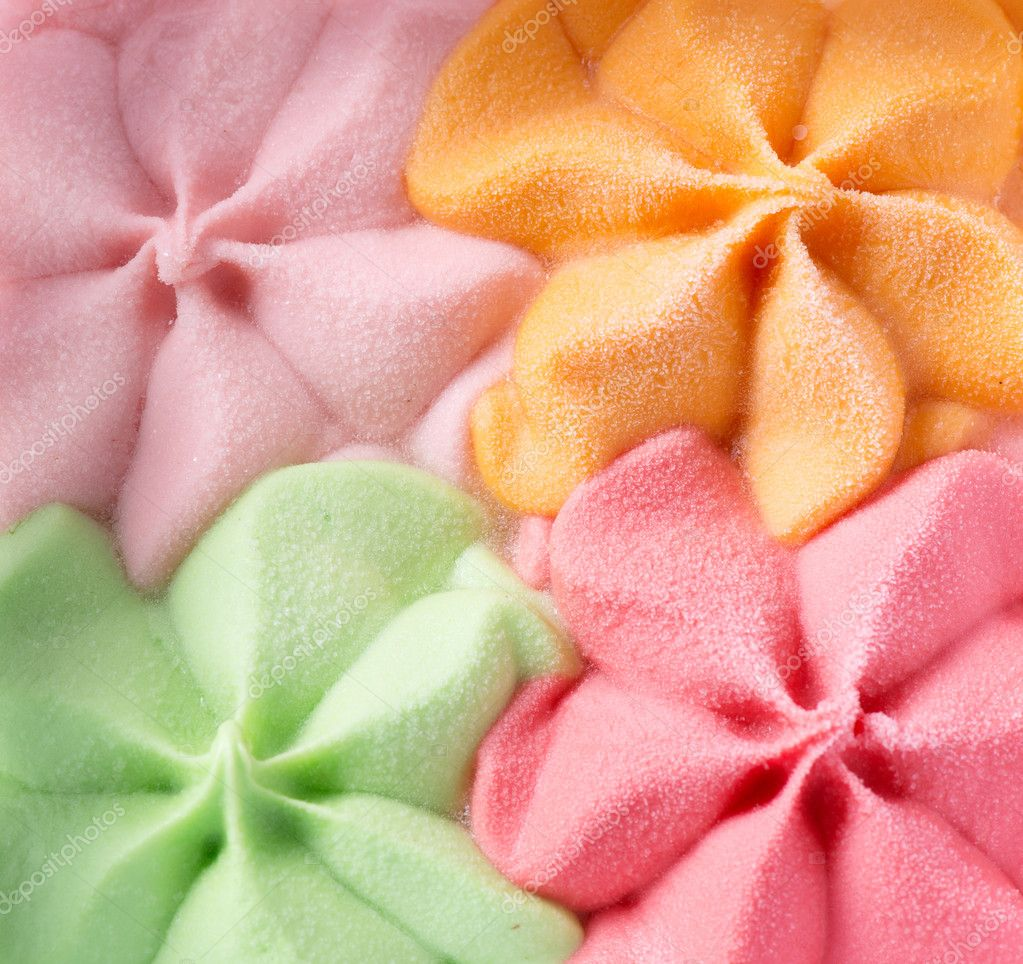 Cream Pink Color Colorful Ice Cream Background
