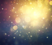 Christmas Background. Golden Holiday Abstract Defocused Backgrou — Stock Photo