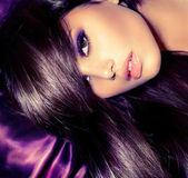 Beauty Girl. Glamour Fashion Woman Portrait — Stock Photo