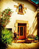 Spain, Catalonia, Barcelona. Streets of Old Mediterranean Towns — Stock Photo