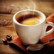 Coffee Espresso. Cup Of Coffee — Stock Photo