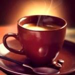 Coffee. Cup of Coffee closeup. Espresso — Stock Photo #44268307
