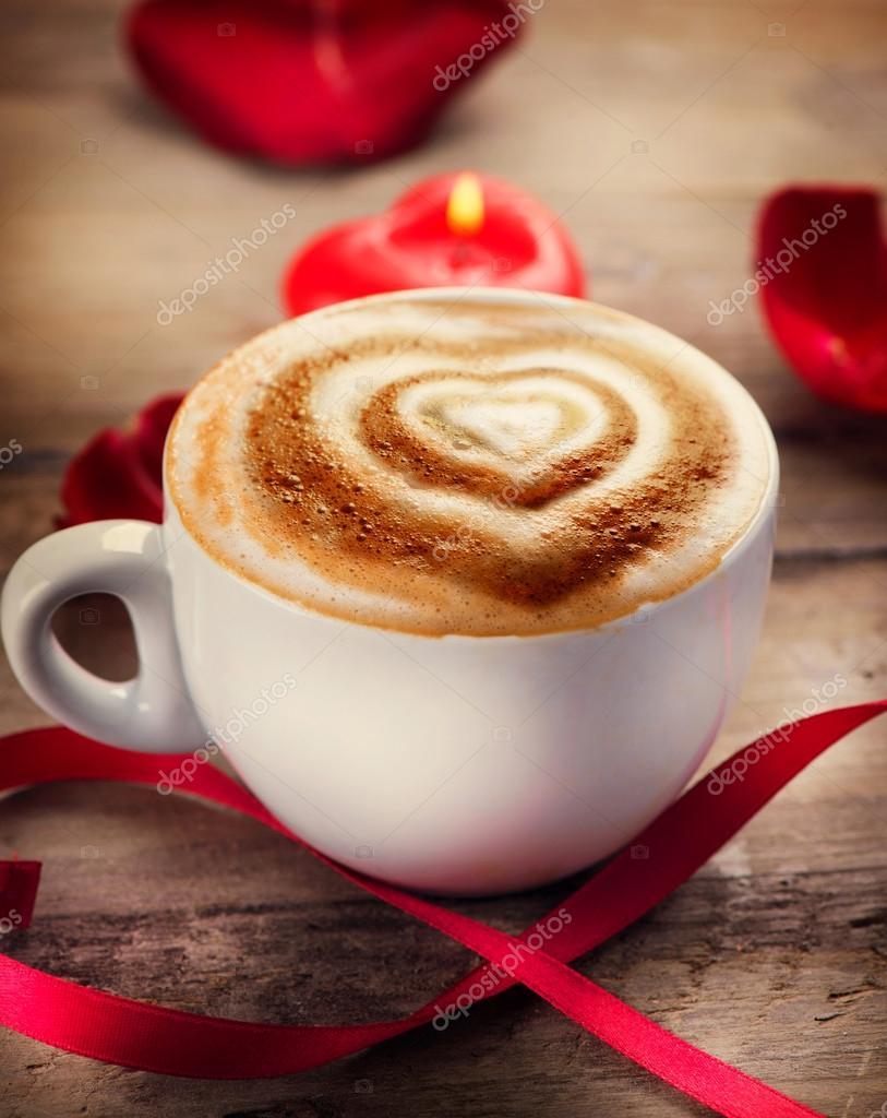 Как сделать сердечко на кофе