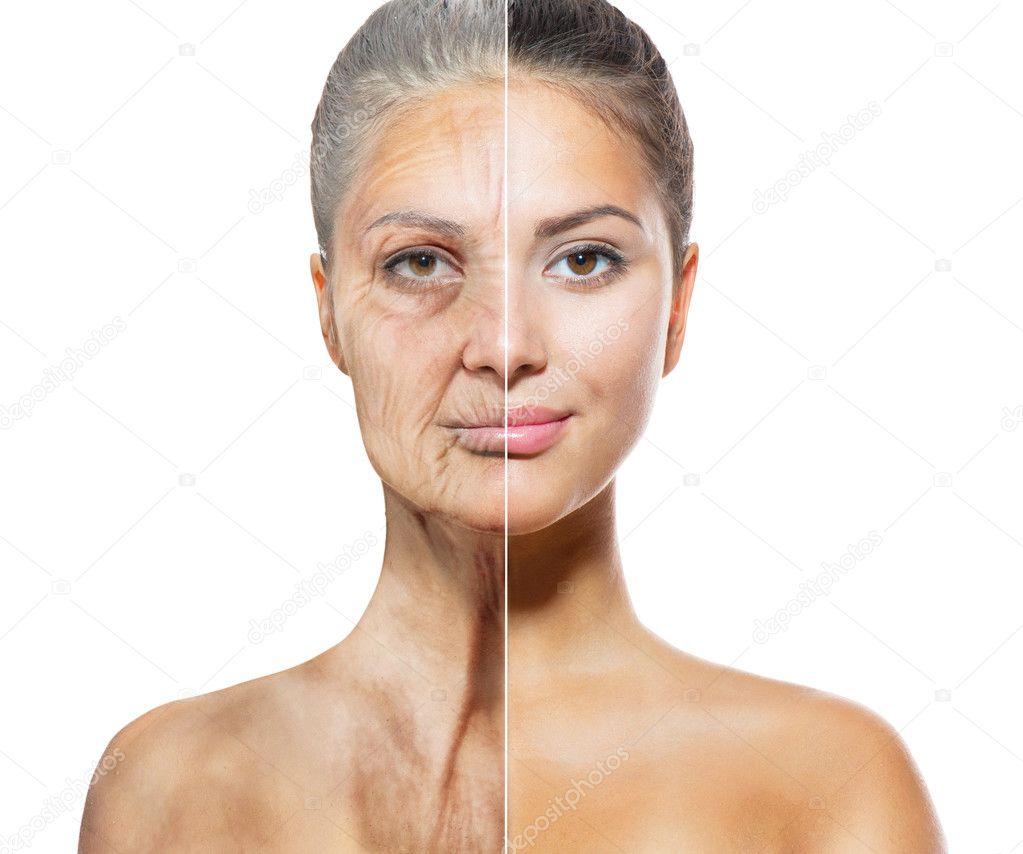 Старая женщина и молодой 12 фотография