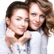 Mother and smiling teenage daughter — Stock Photo #48638469