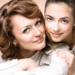 Mother and Teen Daughter — Stock Photo #48638875
