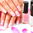 Manicure and Hands Spa. — Stock Photo #48638951